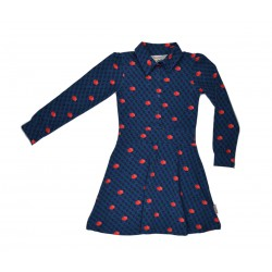 Baba - Jurkje Shirt Dress Cubes Red